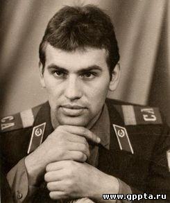 В.А. Ананьев во время службы в рядах Советской Армии 1976 г.